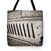 Old Dodge Grille Tote Bag
