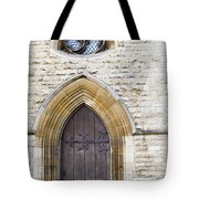 Old Door And Window York Tote Bag