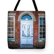 Old Door And Windows Tote Bag