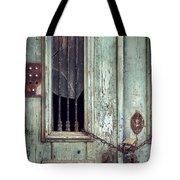 Old Door Detail Tote Bag