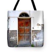 Old Door In Sorrento Tote Bag