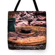 Old Drinking Cup Tote Bag