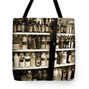 Old Drug Store Goods Tote Bag