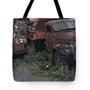 Old Dumptrucks Tote Bag