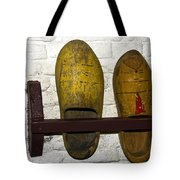 Old Dutch Wooden Shoes Tote Bag