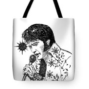 Old Elvis Tote Bag
