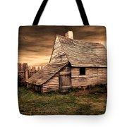 Old English Barn Tote Bag
