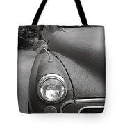 Old English Car Tote Bag