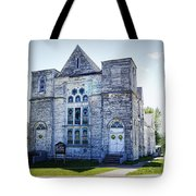 Old English Congregational Church Tote Bag