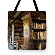 Old English Library Tote Bag