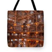 Old Faithful Lodge Tote Bag