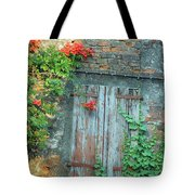 Old Farm Door Tote Bag