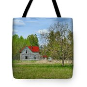 Old Farm House In Langley Tote Bag