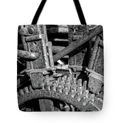 Old Farm Machinery #2 Tote Bag
