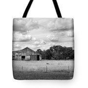 Old Farm Scene Tote Bag