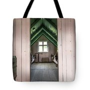 Old Farmhouse Interior Iceland Tote Bag