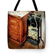 Old Fashioned Dictaphone Tote Bag by Susan Savad