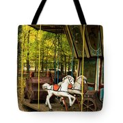 Old-fashioned Merry-go-round Tote Bag