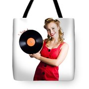 Old Fashioned Music Tote Bag