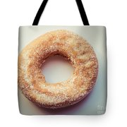 Old Fashioned Sugar Donut Tote Bag