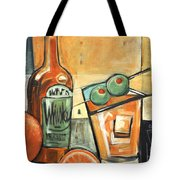 Old Fashioned Sweet With Olives Tote Bag