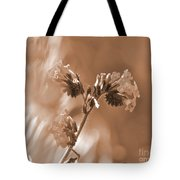 Old Fashioned Wild Flowers  Tote Bag
