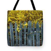 Old Fence Tote Bag