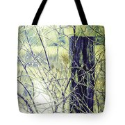 Old Fence Post Tote Bag