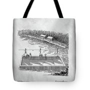 Old Ferryboat Patent Tote Bag