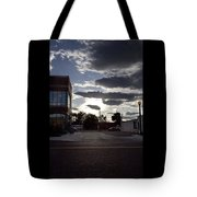 Old Fire House At Sunset - 200370 Tote Bag