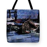 Old Fishboat Tote Bag