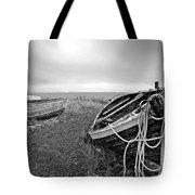Old Fishing Boat Tote Bag