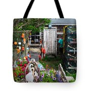 Old Fishing  House 2 Tote Bag