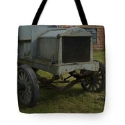 Old Flat Bed Truck Tote Bag