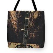 Old Folk Music Banjo Tote Bag