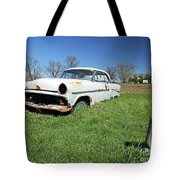 1954 Ford Victoria Tote Bag