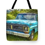 Old Ford Pick Up Truck Pencil Tote Bag