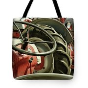 Old Ford Tractors Tote Bag