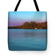 Old Forge Pond Panorama Tote Bag