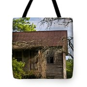 Old Forgotten Farm House Tote Bag
