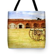 Old Fort And Cannon Still Liife Tote Bag