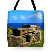 Old Fort Steps Tote Bag