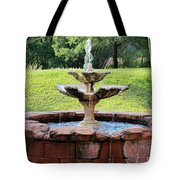Old Fountain Tote Bag