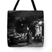 Old French Market Tote Bag