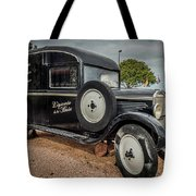 Old French Truck Tote Bag