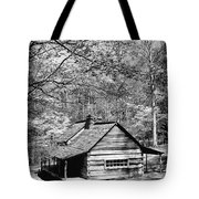 Old Frontier Cabin  Tote Bag