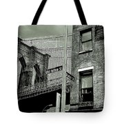 Old Fulton And Water Streets 2 Tote Bag