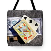 Old Gambling Articles Tote Bag