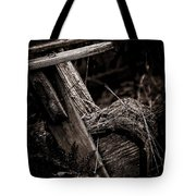 Old Garden Chair. Tote Bag