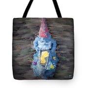 Old Garden Gnome Tote Bag